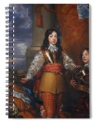 Charles II - King Of Scots And King Of England Spiral Notebook