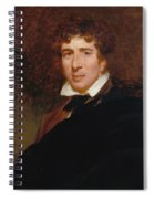 Charles Kemble Spiral Notebook