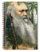 Charles Robert Darwin Spiral Notebook