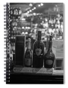 Charles Street Boston Ma Wine In The Window Spiral Notebook