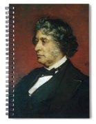 Charles Sumner Spiral Notebook