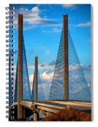 Charles W Cullen Bridge South Approach Spiral Notebook