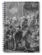 Charles X Spiral Notebook