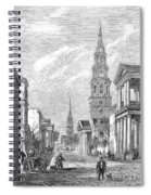 Charleston: Church, 1861 Spiral Notebook