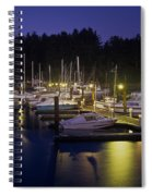 Charleston Docks Spiral Notebook
