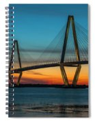 Charleston Golden Hour Spiral Notebook