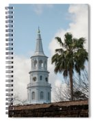 Charleston Historic Church Bell Tower Spiral Notebook
