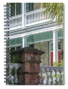 Poyas-mordecai House 1796-1810 On Meeting Street Spiral Notebook