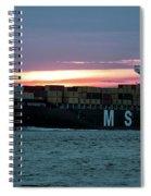 Charleston Port Spiral Notebook