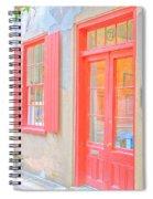 Charleston Sc Catfish Row Spiral Notebook