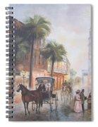 Charleston Somewhere In Time Spiral Notebook