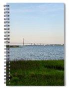 Charleston South Carolina Waterfront Park During Sunset Spiral Notebook