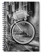 Charleston Street Bike Spiral Notebook