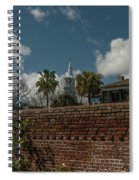 Charleston Walled Garden Spiral Notebook