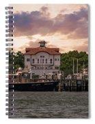 Charleston Wharf Spiral Notebook