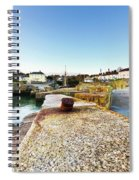 Charlestown From The Sea Wall Spiral Notebook