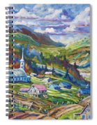Charlevoix Inspiration Spiral Notebook