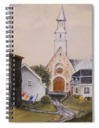 Charlevoix Quebec Spiral Notebook