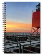 Charlevoix South Pier Lightstation Spiral Notebook