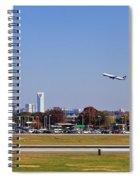 Charlotte Airport Spiral Notebook
