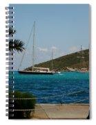 Charlotte Amalie Harbor Spiral Notebook