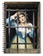 Charlotte Corday Spiral Notebook