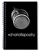 #charlottepoetry Photo Poster Art Spiral Notebook