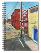 Charlottesville Street Spiral Notebook
