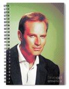 Charlton Heston, Hollywood Legends Spiral Notebook