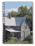 Charming Country Home Spiral Notebook