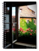 Charming Rothenburg Window Spiral Notebook