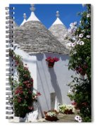 Charming Trulli Spiral Notebook