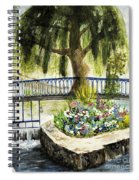 Chartres France Scene Spiral Notebook