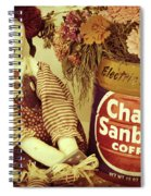 Chase And Sanborn Spiral Notebook