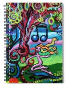 Chase Of The Faerie Note Bubble Spiral Notebook