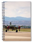 Chase Plane Spiral Notebook