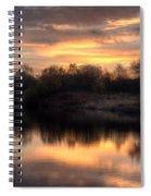 Chasewater Sunrise Spiral Notebook