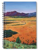 Chasing Heaven Spiral Notebook