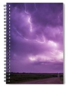 Chasing Nebraska Lightning 012 Spiral Notebook