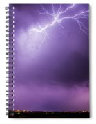 Chasing Nebraska Lightning 043 Spiral Notebook
