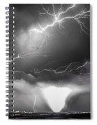 Chasing Nebraska Lightning 052 Spiral Notebook