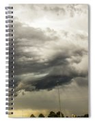 Chasing Nebraska Stormscapes 044 Spiral Notebook