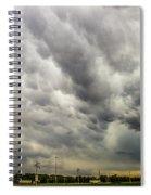 Chasing Nebraska Stormscapes 046 Spiral Notebook