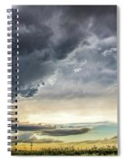 Chasing Nebraska Stormscapes 047 Spiral Notebook