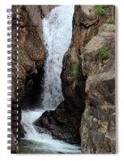 Chasm Falls 2 - Panorama Spiral Notebook