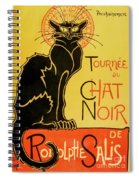 Chat Noir Spiral Notebook
