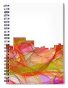 Chatanooga Tennissee Skyline Spiral Notebook