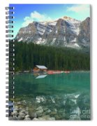 Chateau Boat House Spiral Notebook
