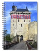 Chateau De Chinon Spiral Notebook