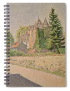 Chateau De Comblat Spiral Notebook